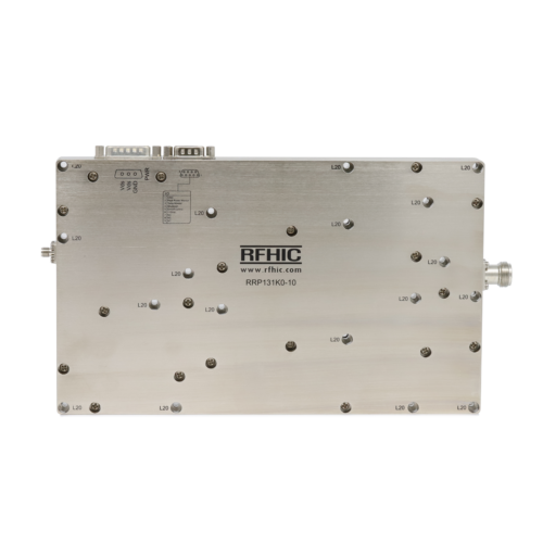 RRP131K0-10, 1.2kW, L-band, GaN Power Amplifier - RFHIC Corporation