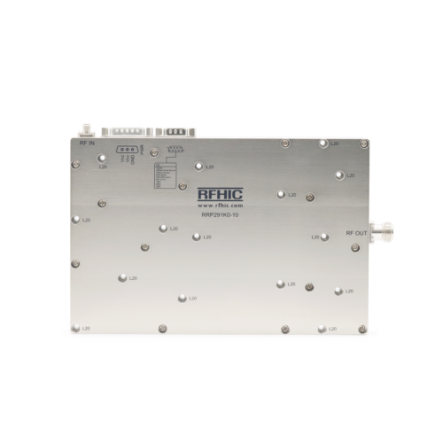 RRP291K0-10, 1.1kW, S-band, GaN Power Amplifier - RFHIC Corp.