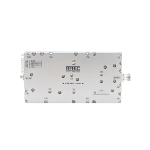 RRP54591K2-42, 1.2kW, C-band, GaN Power Amplifier - RFHIC Corp.