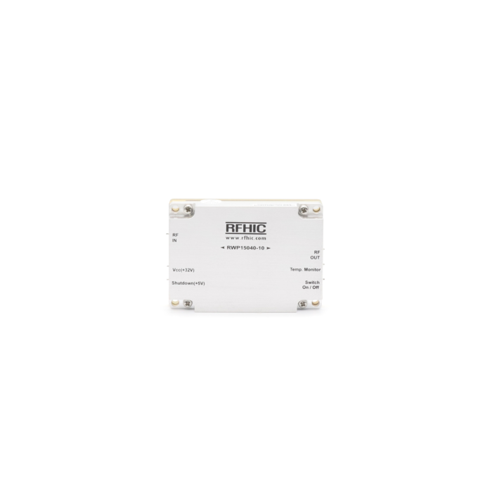 RWP15040-10, 38dB, 500-2500 MHz, GaN Wideband Amplifier - RFHIC