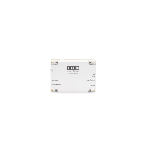 RWP20050-10, 38dB, 1000-3000 MHz, GaN Wideband Amplifier - RFHIC