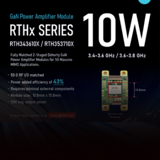 RTHx series_GaN Power Amplifier Module_RFHIC