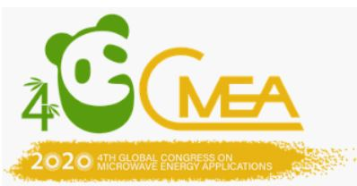 4th Global Congress on Microwave Energy Applications (4GCMEA) 2020