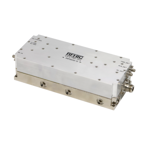 RNP58200-10, 200W, 5725-5875 MHz, GaN Solid-State Power Amplifier (SSPA)