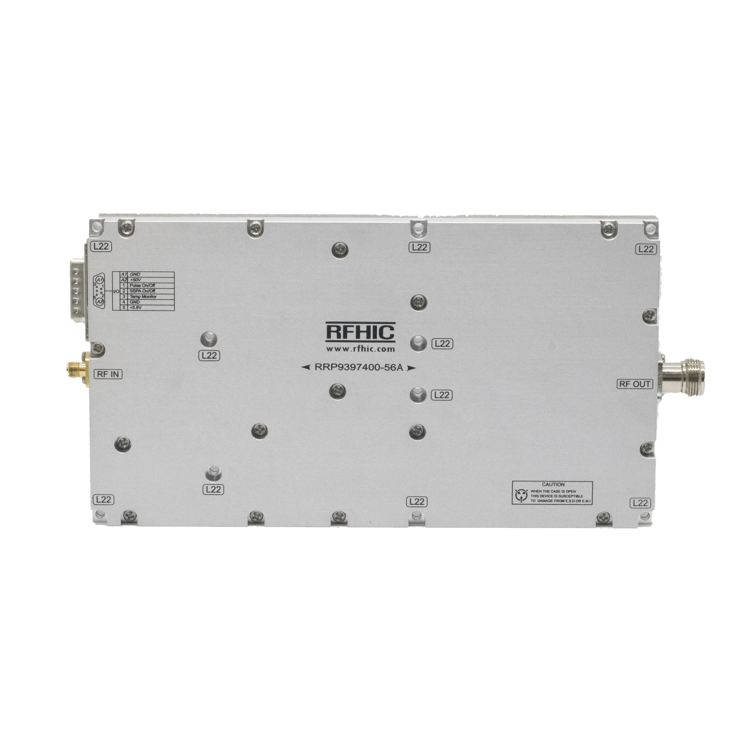 400W, X-band GaN Solid State Power Amplifier