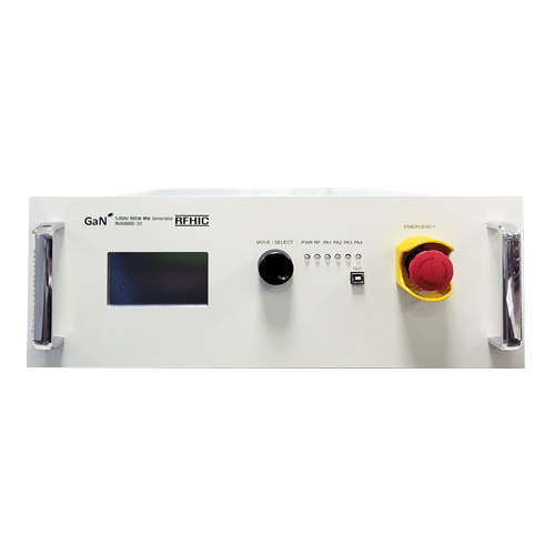 RFHIC - 800W, 5725-5875 MHZ, GaN solid state microwave generator system